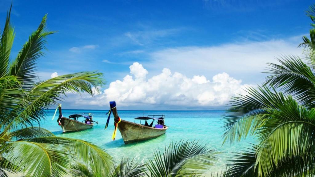 boats-on-beach-paradise-island-facebook-timeline-cover,1366x768,66955